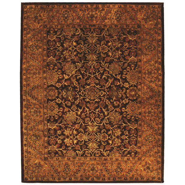 Golden Jaipur Burgundy/Gold Area Rug by Safavieh
