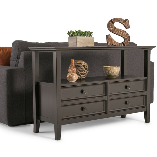 Alcott Hill Brown Console Tables