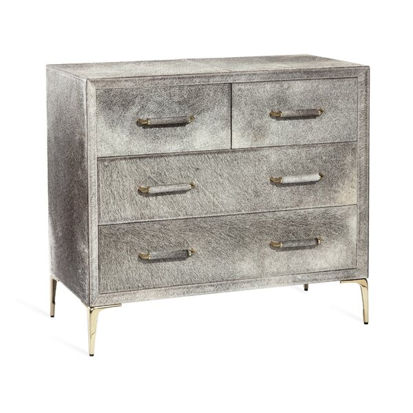 Jaxon 4 Drawer Bachelors Chest by Interlude