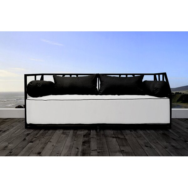 Snydertown Patio Daybed with Cushions by Brayden Studio