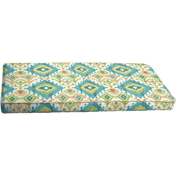 Briget Indoor/Outdoor Bench Cushion by Bungalow Rose