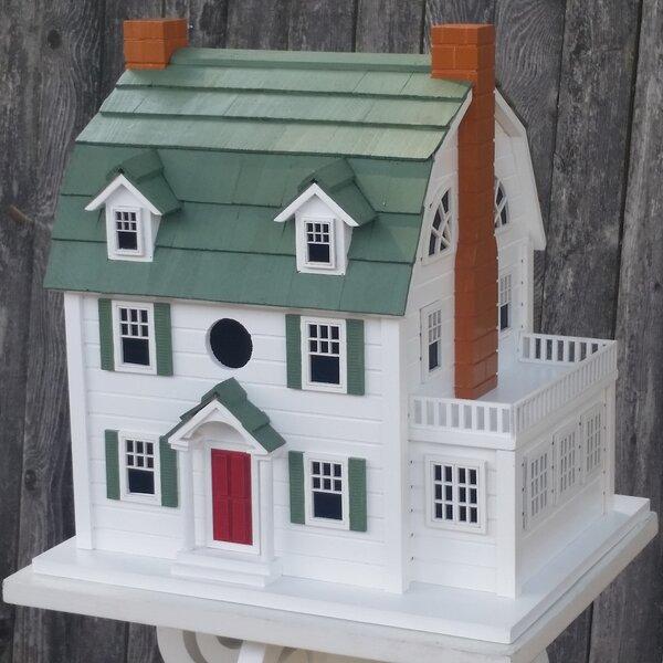 Dutch Colonia 13.5 in x 10.5 in x 12.5 in Birdhouse by Home Bazaar