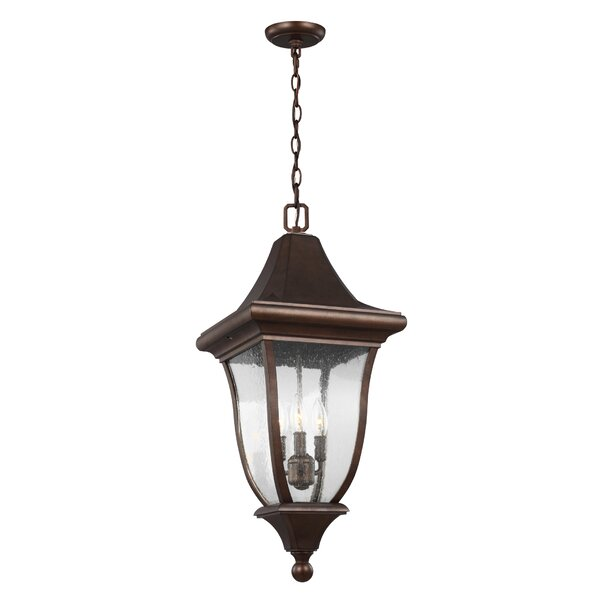 Haubstadt 3-Light Outdoor Hanging Lantern by Darby Home Co