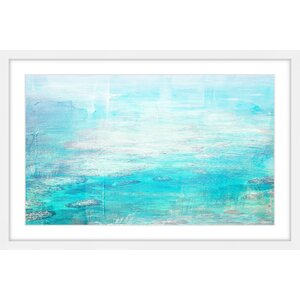 'White Surf' by Parvez Taj Framed Painting Print by Parvez Taj