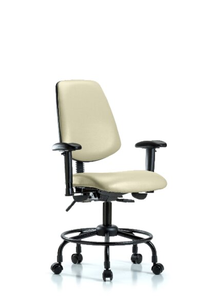 Amira Round Tube Base Desk Height Office Chair by Symple Stuff