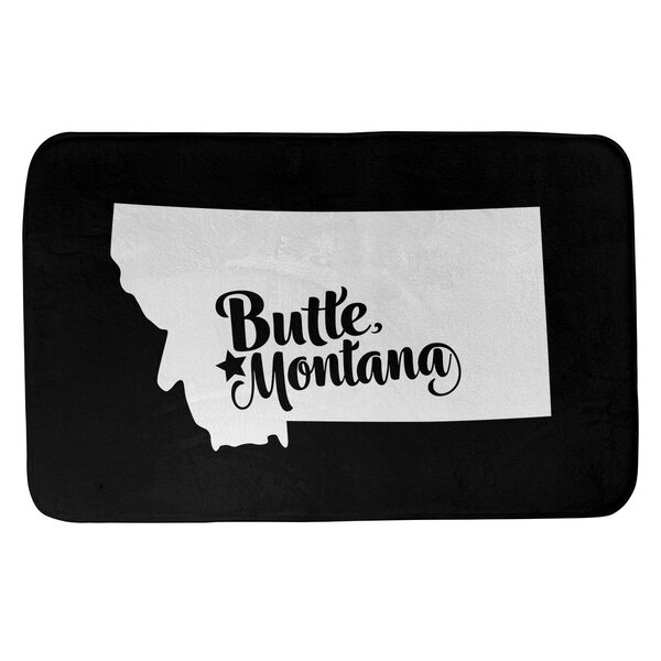 Butte Montana Bath Rug