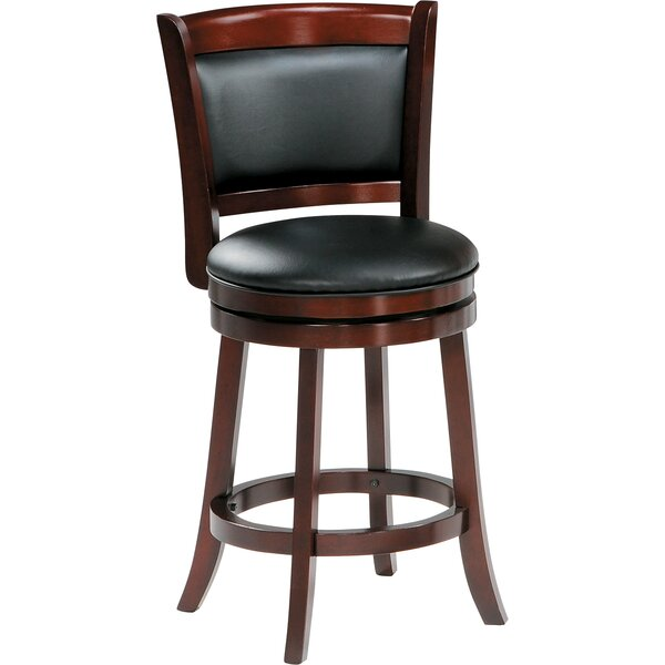 Edinburgh 24 Swivel Bar Stool by Darby Home Co