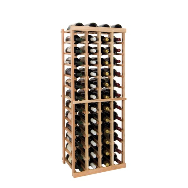 Florian 52 Bottle Floor Wine Bottle Rack by Symple Stuff Symple Stuff