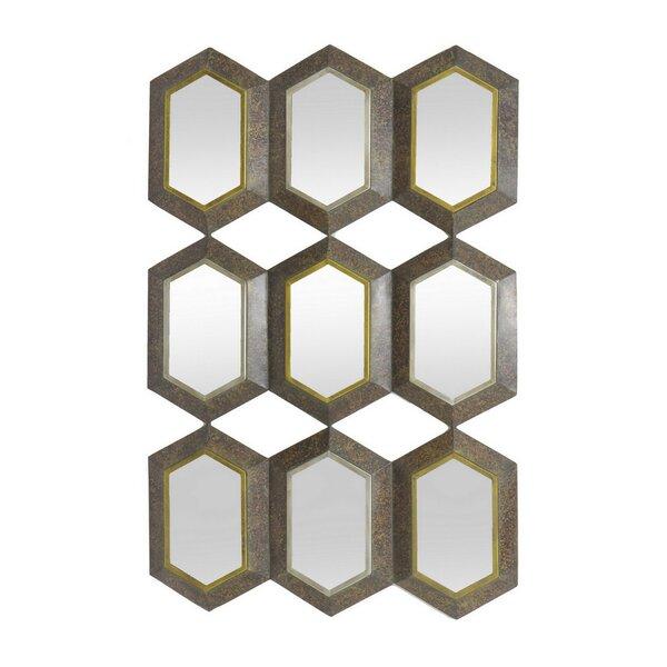 Macedo Wall Mirror by Wrought Studio