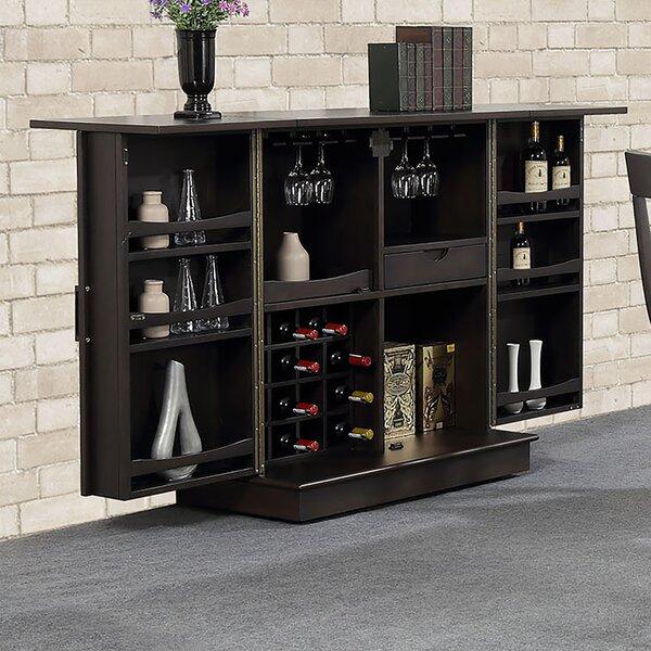 Tabinowski Expandable Bar with Wine Storage by Latitude Run