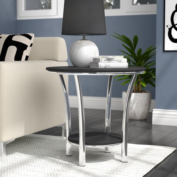 Dobbs Ferry End Table by Wrought Studio