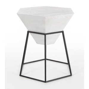 Bunker End Table by Mercury Row