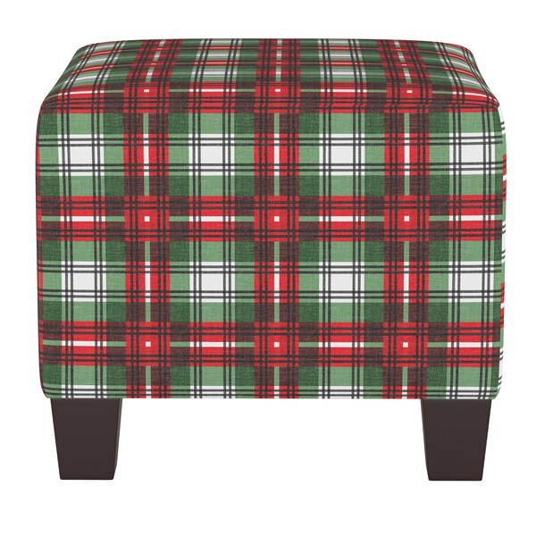Dominique Square Ottoman by Millwood Pines