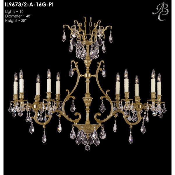 Sohn 10-Light Candle Style Empire Chandelier by Astoria Grand Astoria Grand