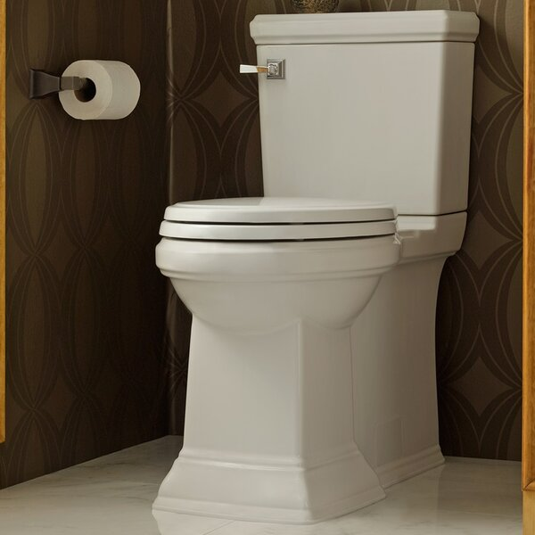 Town Square Right Height Flowise 1.28 GPF Elongated Two-Piece Toilet by American Standard