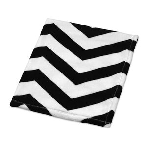 Chevron Plush Baby Blanket