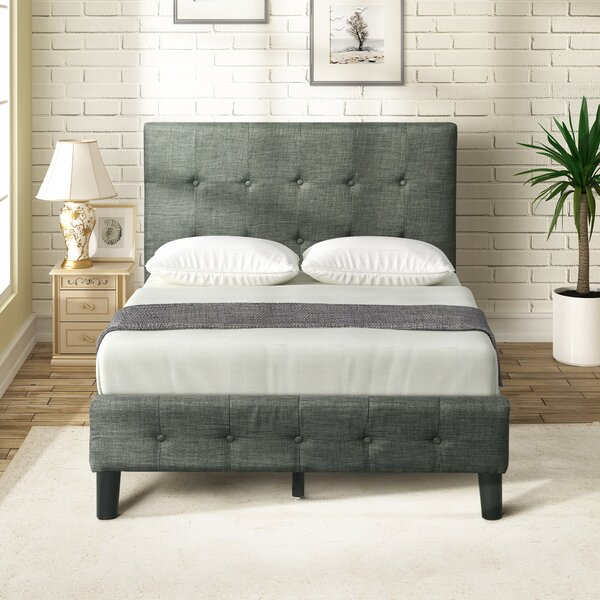 Mojave Twin Upholstered Platform Bed by Ebern Designs