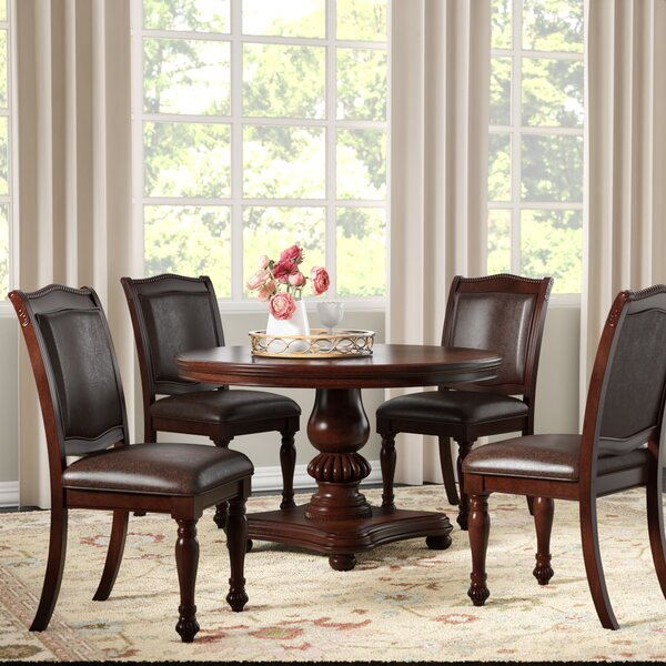 Perine 5 Piece Dining Set by Alcott Hill