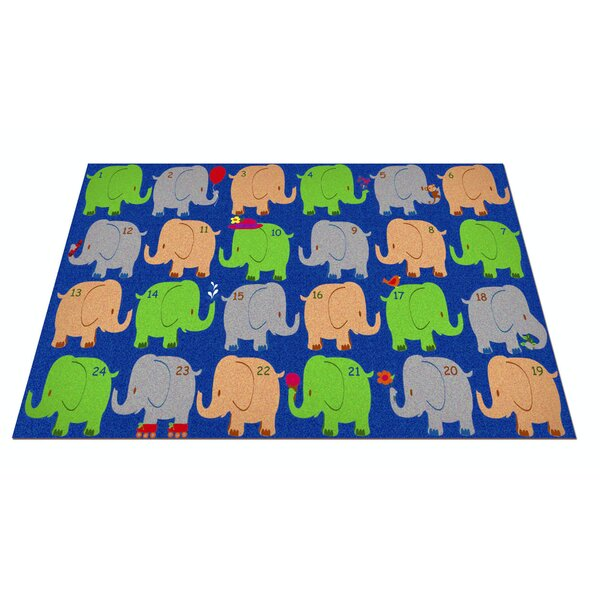Elephant Seating Classroom Area Rug by Kid Carpet
