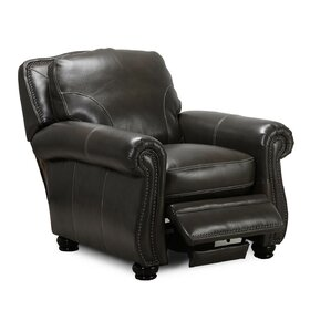 Mariela Leather Manual Recliner by Darby Hom..