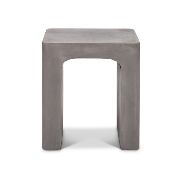 Lorna Contemporary Garden Stool by Greyleigh
