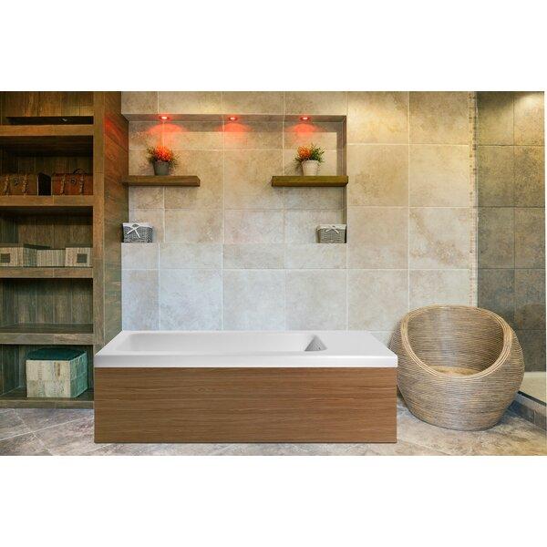 Pure 82.75 x 31.5 Freestanding Soaking Bathtub by Aquatica