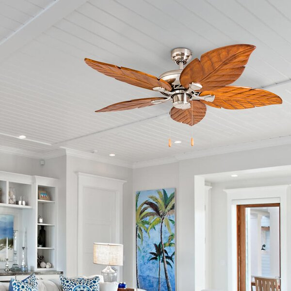 52 Longford 5 Blade LED Ceiling Fan by Bay Isle Home