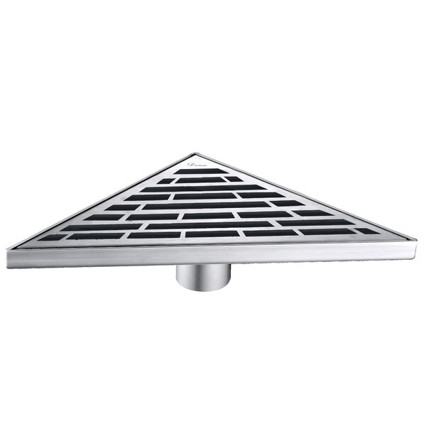 Amazon River  Grid Shower Drain with Overflow by Dawn USA
