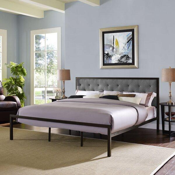 Karns Upholstered Platform Bed by Three Posts