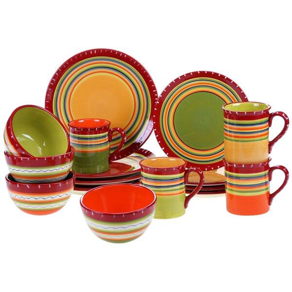 Candelas 16 Piece Dinnerware Set by World Menagerie