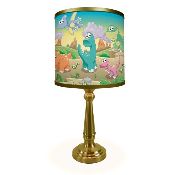 Daisy Dinosaur Friends 19 Table Lamp by Zoomie Kids