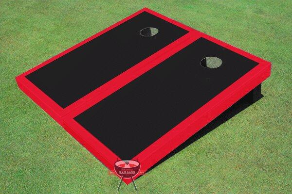 Matching Border Cornhole Board (Set of 2) by All American Tailgate