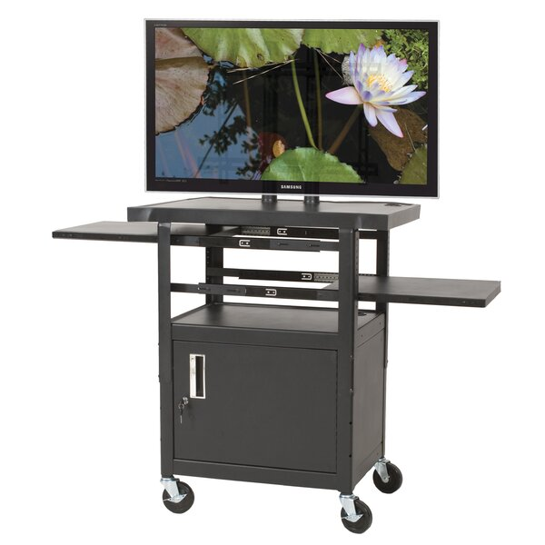 Height Adjustable Flat Panel AV Cart by Balt