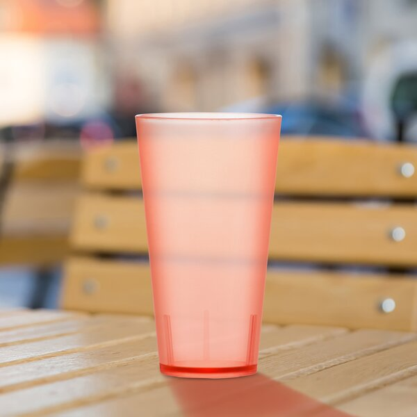 "Grajeda Tritanâ""¢ 20 Oz. Plastic Drinking Glass (Set Of 4) By Ebern Designs"