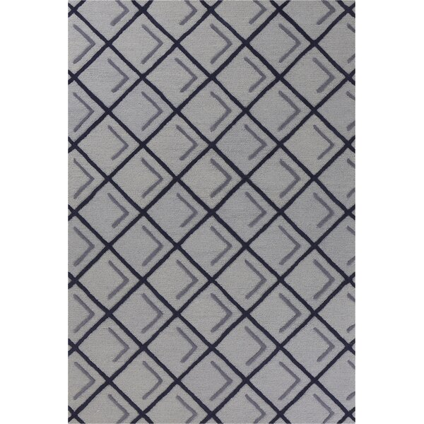 Soho Square Hand-Tufted Wool Iron/Smoke Cooper Area Rug by Libby Langdon