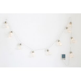 Savings Dinger 10-Light Globe String Lights By Williston Forge