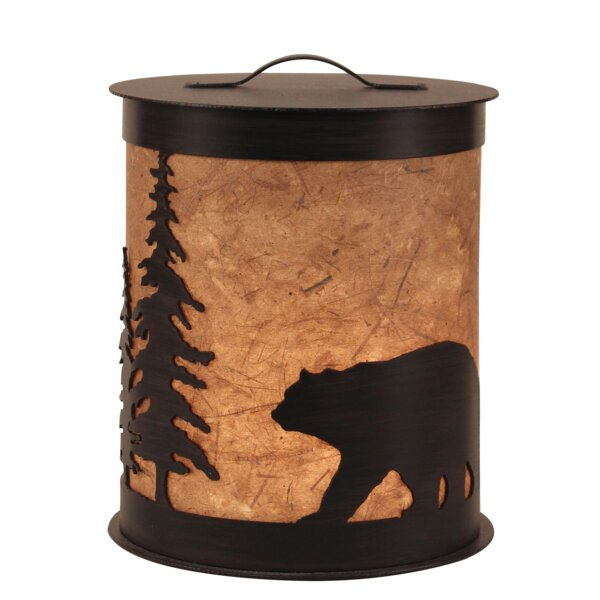 Kodiak Bear and Feather Tree Accent Night Light by Coast Lamp Mfg.