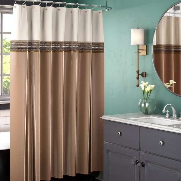 Bourland Shower Curtain by Three Posts