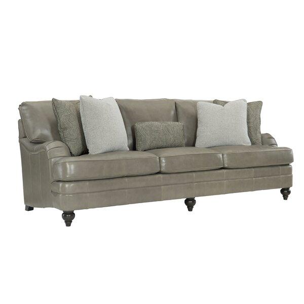 Tarleton Top Grain Leather Sofa by Bernhardt