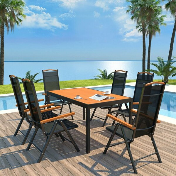 Jaffe 7 Piece Dining Set By Latitude Run