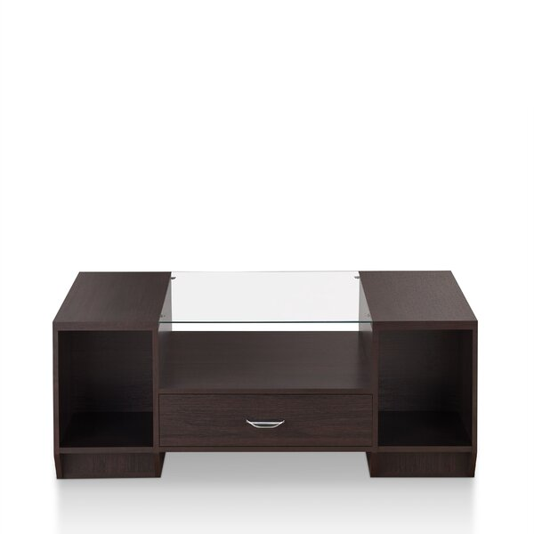 Jeffress Coffee Table with Storage by Ebern Designs