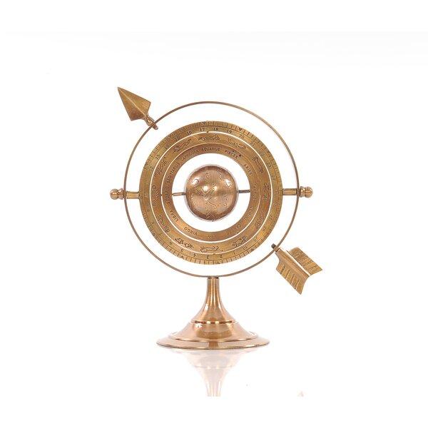 Brass Armillary Globe by Old Modern Handicrafts