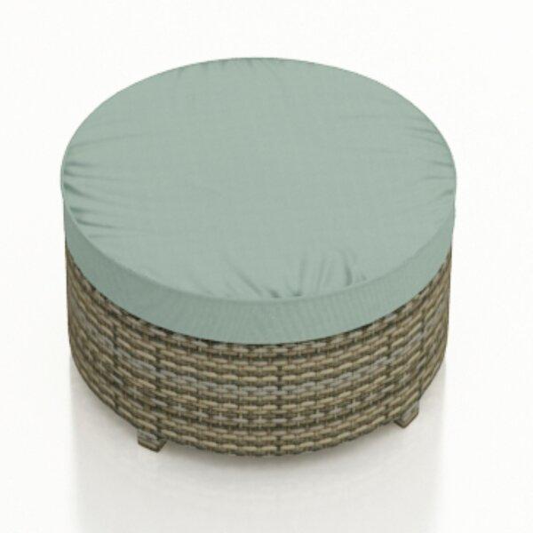 Dasaki Ottoman with Sunbrella Cushion by Wrought Studio