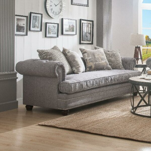 Howa Upholstered Sofa By Rosdorf Park