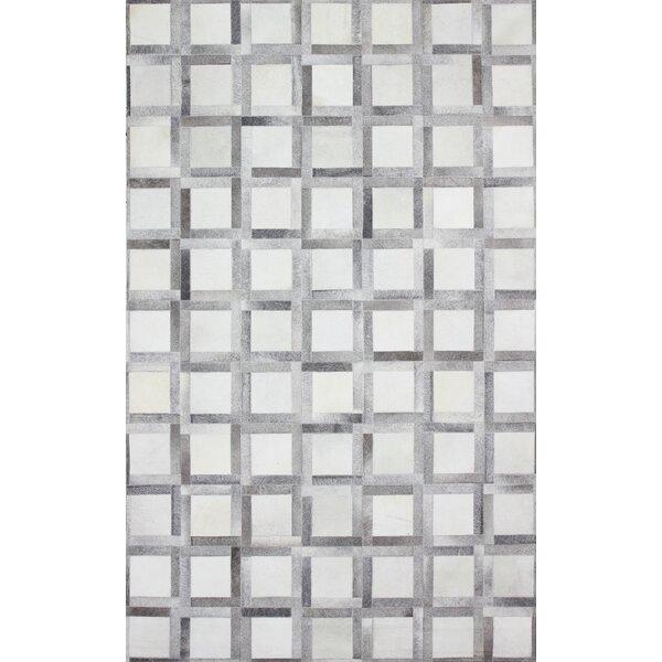 Davi Handmade Gray Area Rug by Wade Logan