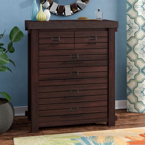Emmett 6 Drawer Chest by Latitude Run