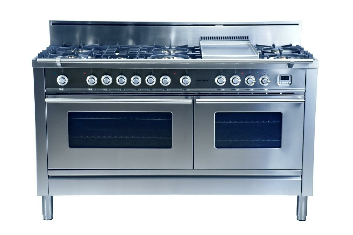 Why Dual Fuel Range Hallman 60 Free Standing Dual Fuel Range With Griddle Reviews