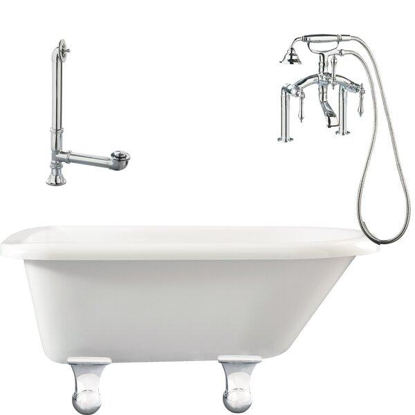 Brighton Roll Top Soaking Bathtub by Giagni