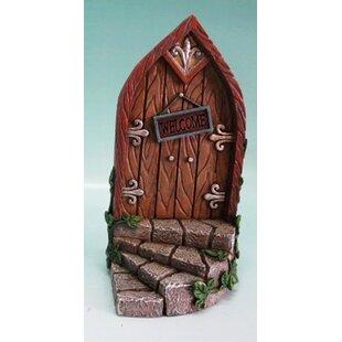 Fairy Mini Garden Door with Welcome Sign  sc 1 st  Wayfair & Front Door Welcome Sign | Wayfair
