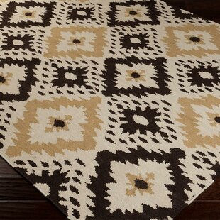 Searching for Kaylah Cumin/Espresso Area Rug By Mistana